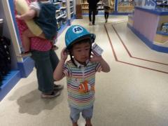 モンスターズ・インクのヘルメット