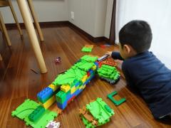 レゴのトンネル