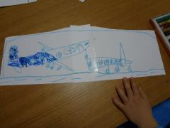 飛行機の絵