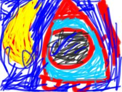 iPadで描いたロケット