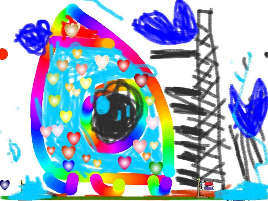 iPadで描いたロケット2