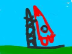 iPadで描いたロケット3